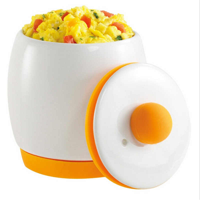 1PC Egg Tastic Ceramic Microwave Egg Cooking Tools For Home Kitchen Instantly Heat Perfectly Good Kitchen Tools KC1551