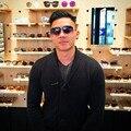 2017 dower me 23007d 18 k garra óculos de sol das mulheres da qualidade superior Flash de Ouro de óculos de sol Com Caixa Original Óculos de Lente de 62 MM Com logotipo