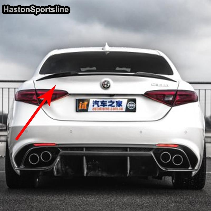 Alfa romeo giulia carbon fiber spoiler 11