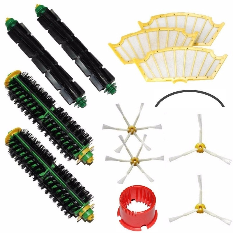 13Pcs/Lot Brand new replacement Accessory for Irobot Roomba 500 527 528 510 530 532 535 540 555 560 562 570 572 580 581 590 more