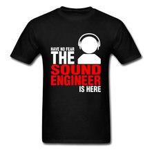 T-shirt DJ pour hommes, drôle et humoristique, avec lettres, pour amoureux de la musique