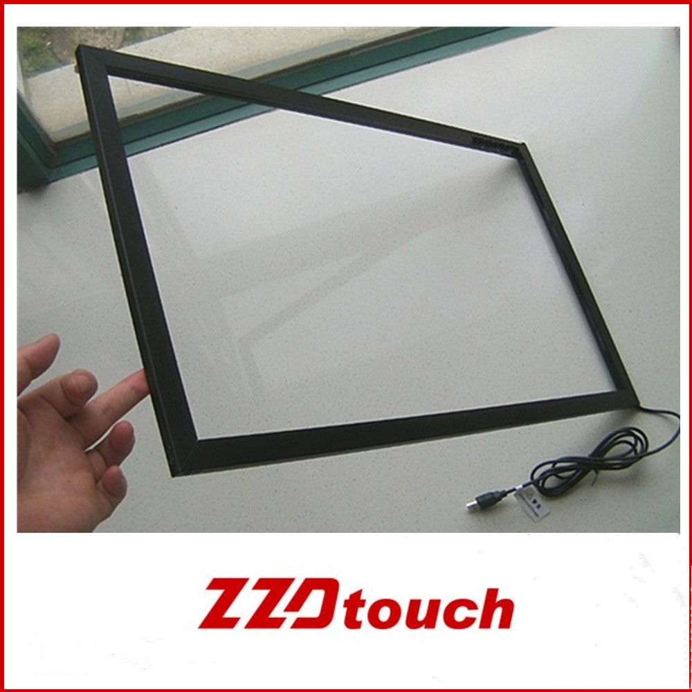 27 inch infrared touch overaly ir touch frame snesor touch acreen kit 1 2 points touch for pc LED monitor