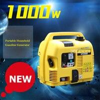 EPS1000 Портативный бытовой бензиновый генератор домой Небольшой Бесшумный генератор однофазный бензиновый генератор 1000 Вт 220 В 88CC 4.2L