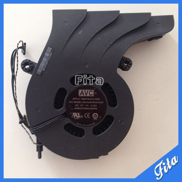 922-9385 610-0094 CPU Fan For iMac 21.5 A1311 CPU Fan Mid 2010 BAKA0825R2HV004 skone relogio 9385