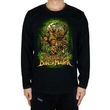 8 designs illustration the black dahlia murder Rock Brand Full long sleeve heavy Metal shirt fitness Hardrock Cotton skateboard
