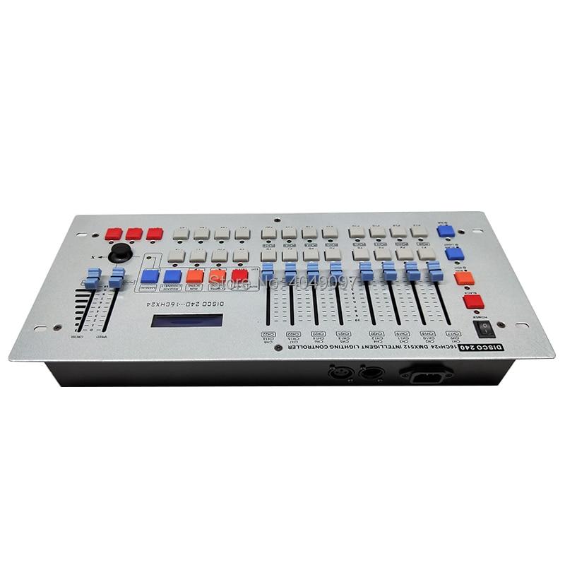 NEWEST 240 DMX Controller Stage Lighting DJ Equipment DMX Console For LED Par Moving Head Spotlights DJ Free shipping free shipping 5pcs ck bk dj ce dj bf db 9j cl bg in stock