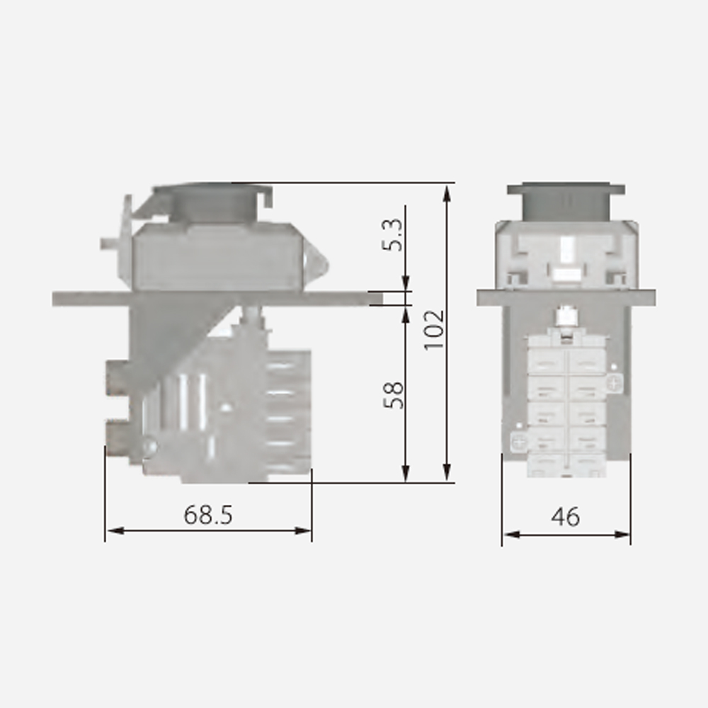 hight resolution of jd3 230 400v 16 12a electromagnetic switches with undervoltage protection function for electric power