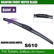 RAINFUN – essuie-glace de pare-brise pour Subaru Justy(08-) S610, ensemble de 2 pièces, 20