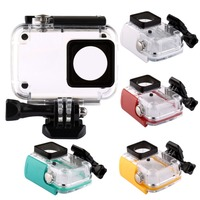 40m Diving Waterproof Case For Xiaomi Xiaoyi YI Sports Camera II 2 Case For Xiaomi YI