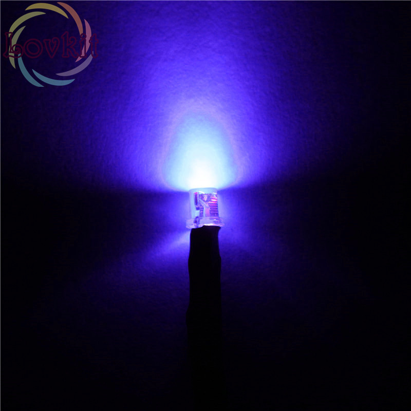 20pcs 3mm Pre-Wired Resistor Flat Top Purple/UV LED 12V DC 20cm Wide Angle Light Bulb Emitting Diodes For Car Toy DIY HOT SALE