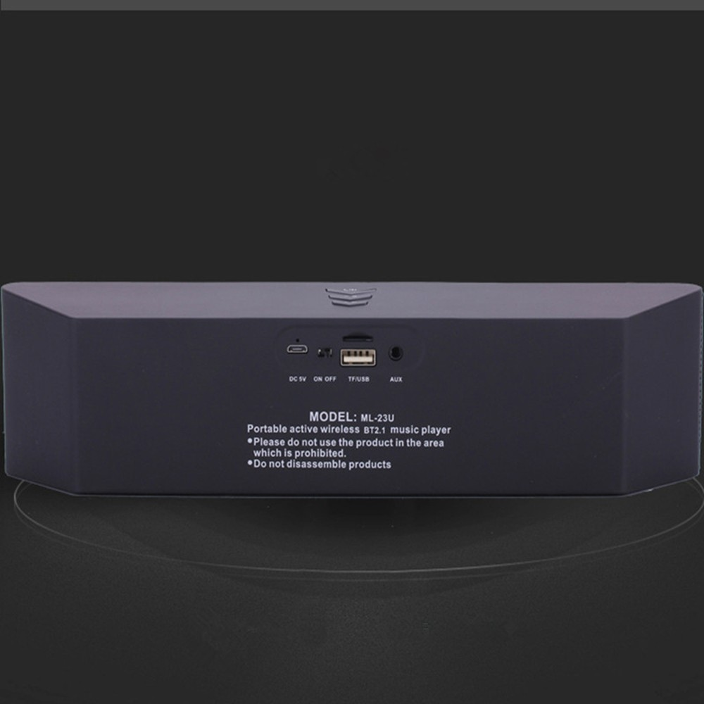 Super Bass Portable Bluetooth Speaker 4.0 Big Powerful 10W Soundbar Wireless Stereo Sound Box with DSP Noise Reduction Mic (6)