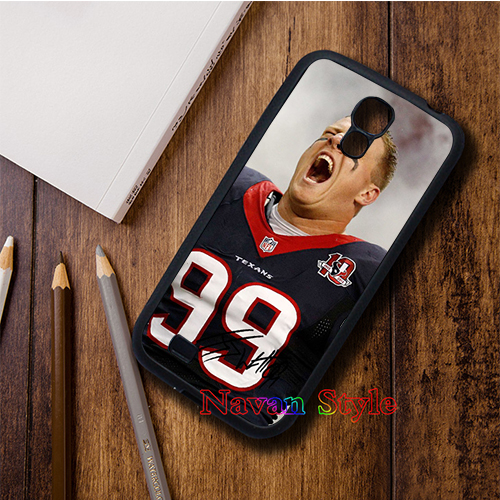 Houston Texans Galaxy 4 Hard Cell Phone Case