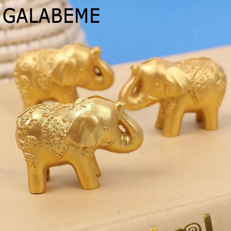 Galabeme 12PC Wedding Souvenirs Wedding Favor Good Luck Elephant Place Card Holders Wedding Shower Favors Wholesale