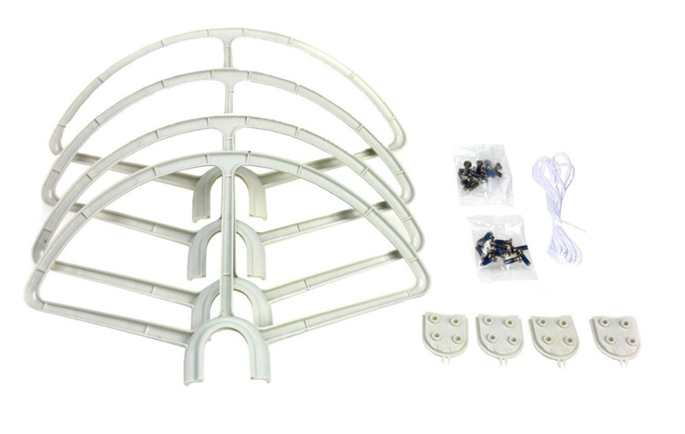 4pcs Quick Release Propeller Bumper Protection Guard Cover for DJI Phantom 1 2 3 RC Helicopter