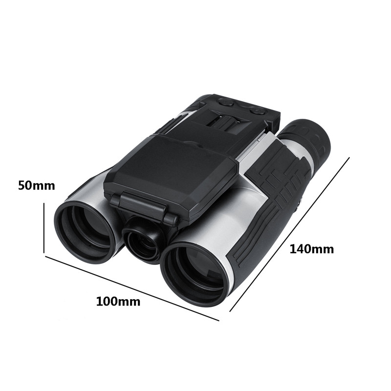 Suncore 1080p 5MP 12X HD LCD Screen Digital Camera Telescope Binoculars Video Camera COMS USB Sensor With Recording Function