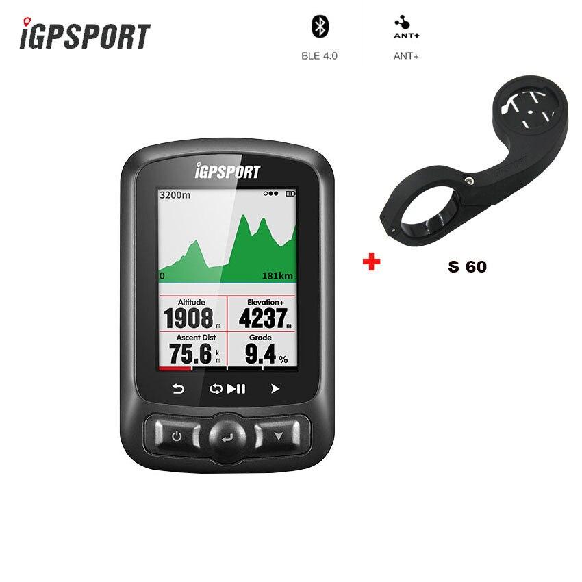 IGPSPORT 618 Couleur Écran Ordinateur ANT + GPS Velocimetro Vélo Ciclismo Bluetooth Sans Fil Chronomètre Vélo Bicicle Compteur De Vitesse