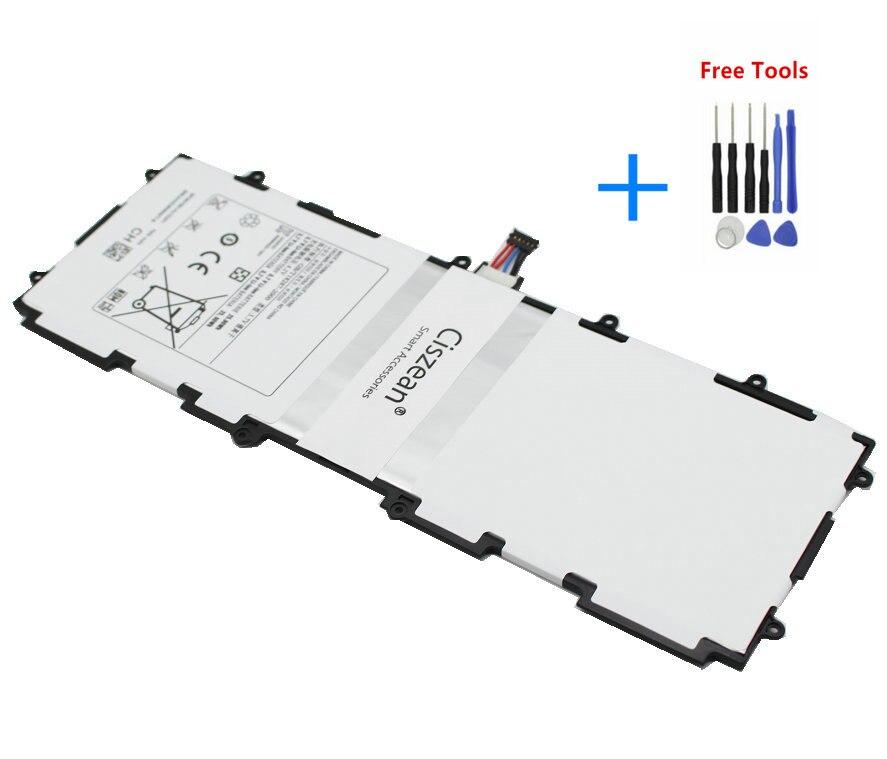 1x7000 mah bateria sp3676b1a (1s2p) para samsung galaxy note 10.1 tab 2 gt n8000 n8010 n8020 p7510 p7510 p5100 p5110 + ferramentas de reparo