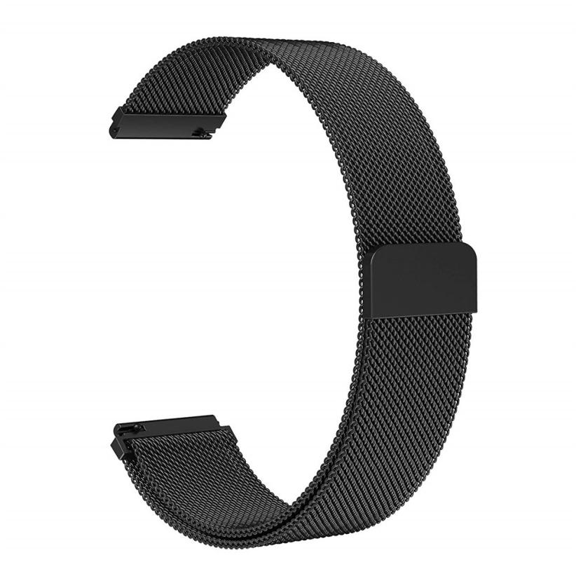 HIPERDEAL Luxury Milanese Magnetic Loop Stainless Steel Wristband For Samsung Galaxy Watch 46mm/42mm Dropshipping Aug 16