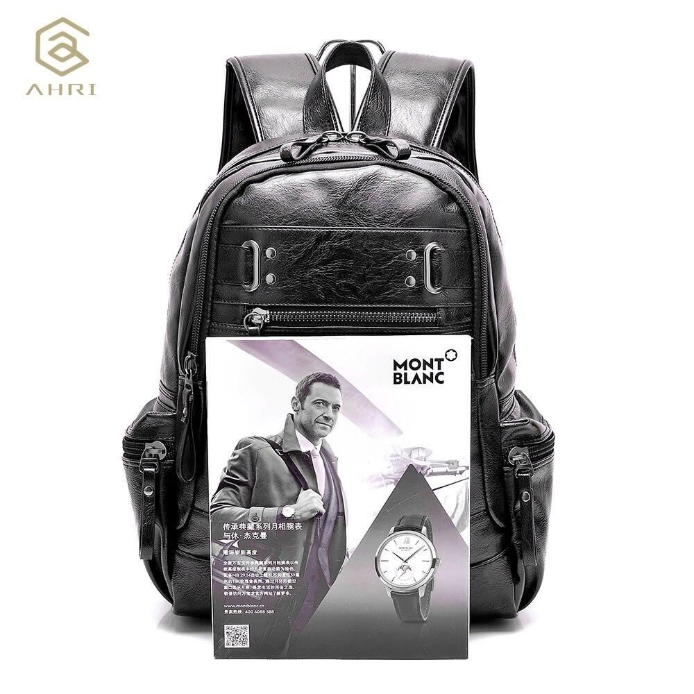 ahri mochilas para homens bolsa Color : Black, brown