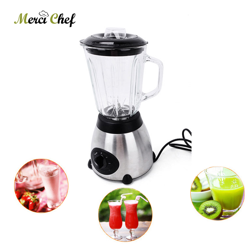 Food Machine Blender Heavy Duty 800W Commercial Electric Mixer Grinder Blender Fruit Vegetable Juicer Food Processor Bar bpa 3 speed heavy duty commercial grade juicer fruit blender mixer 2200w 2l professional smoothies food mixer fruit processor