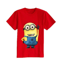 2016 Cheapest Cartoon Children T Shirts Minions Clothes T Shirts For Girls Boys Cotton Short Sleeve