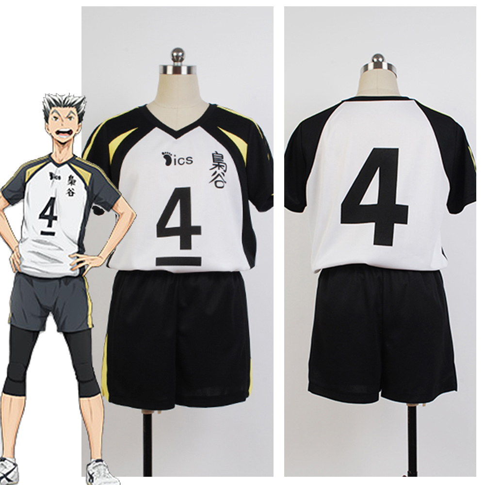 Hot Anime Haikyuu Fukurodani Academy Uniform Bokuto Koutarou Haikyu Jersey Cosplay Costume