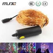 MJJC 2 М 380 LED Медный Провод Строка Сказочных Огней с 6 В DC Адаптер СВЕТОДИОД для Елки Партии украшения Открытый