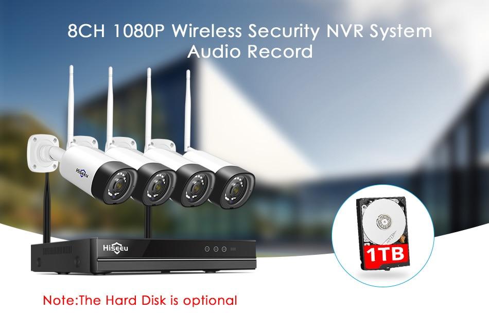 1080P Outdoor IP 8CH 1