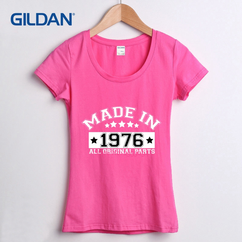 New Tee Shirt Design 2018 For Ladies Birthday Idea Made In 1976 41st Present T Price Womens