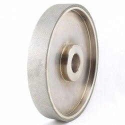 6 дюймовый зернистость 46-2000 облицовочный алмазный шлифовальный круг с покрытием Размер отверстия 1 W втулка Арбор 3/4 5/8 лапидарные инструмен...