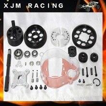 1/5 rc car 2 speed system kits/alloy gear plate fit hpi rovan km baja 5b