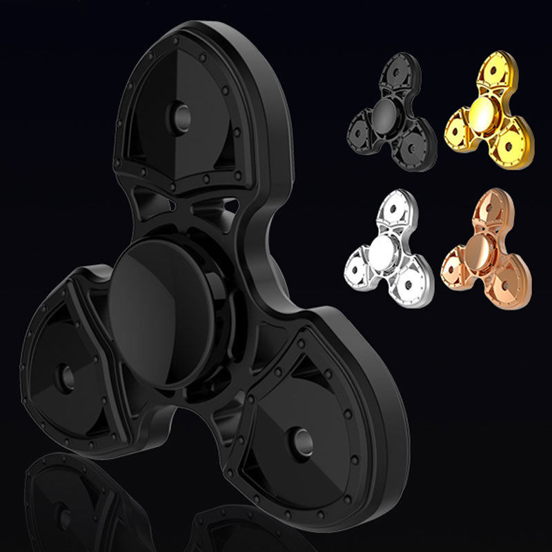 2017 Randomly Color Hot EDC Fidget Spinner Ceramic Finger Spin Stress Hand Desk Toy ADHD Autism