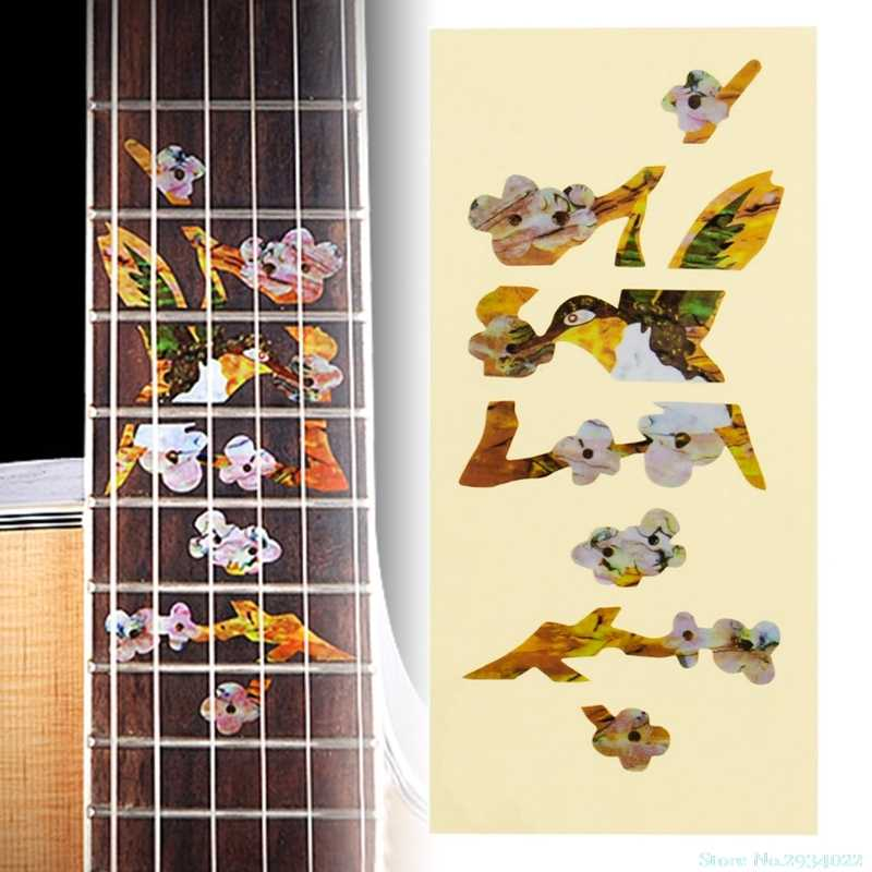 New Thin Inlay Sticker Fretboard Decals Marker DIY For Electric Acoustic Guitar Drop Ship