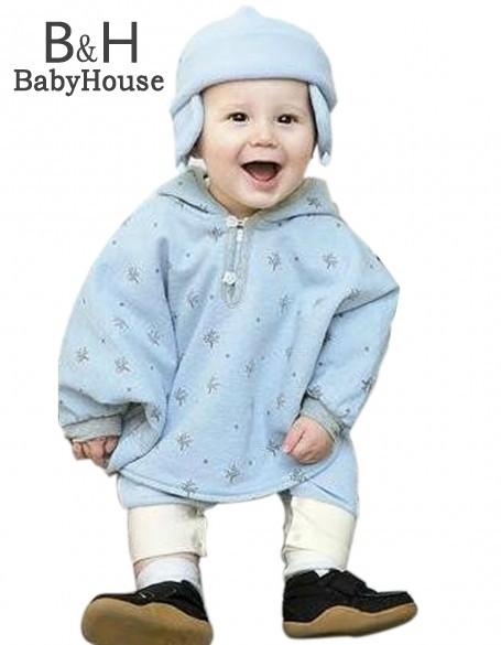 2017 capa del bebé capa doble cara de lana outwear floral bebé capa poncho infantil del bebé capa de los niños clothing 67