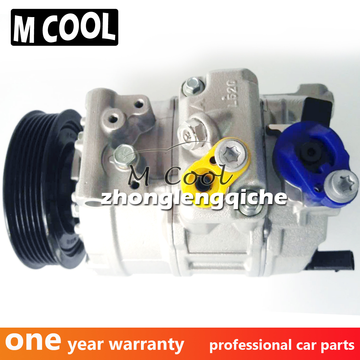 High Quality New AC Compressor For Audi TT 1K0820859N 1K0298403A 1K0 820 859N 1K0 820 859T 1K0820859N 1K0820859T in Air conditioning Installation from Automobiles Motorcycles