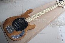 Freies verschiffen 4 saiten Ernie Ball Music Man StingRay Natürliche farbe e-bass aktive pickup 2015 1