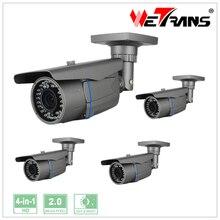 4 ШТ. AHD Камеры в Режиме Реального Времени Sony CMOS IMX323 2.0MP Водонепроницаемый P2P 60 м Ночного Видения 1080 P Full HD HDCVI Камеры ВИДЕОНАБЛЮДЕНИЯ AHD HDTVI