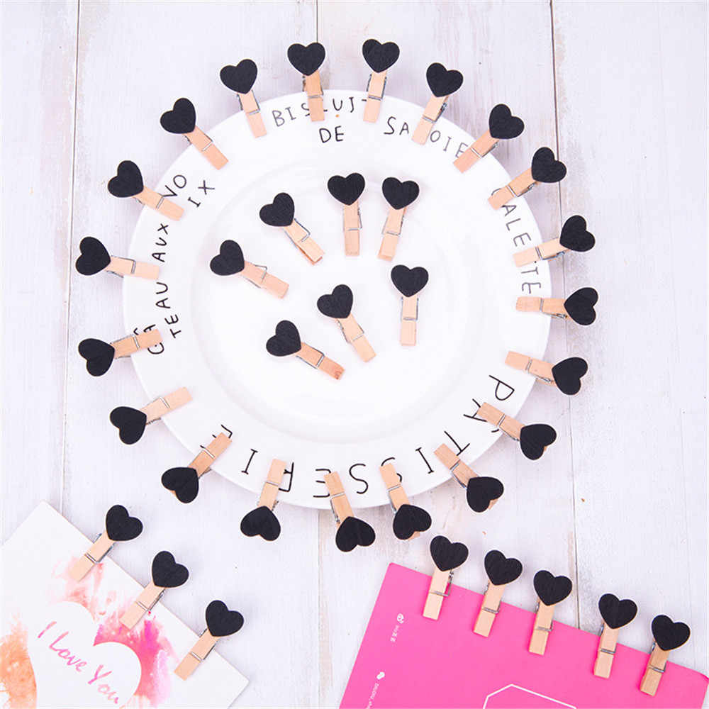 10 Pcs/set Clips Wall Deco DIY Creative Frame With Mini Colored Clothespins perfect decoration for your bedroom or living roooom