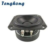 Tenghong 1pcs 3 Inch 8Ohm 15W Full Range Speaker 25 Core Rubber Tweeter Midrange Woofer Magnetic Portable Audio Speaker Bluetooh