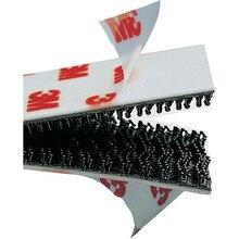 6 шт. 3 м двойной замок SJ3550 черный VHB гриб клейкая крепежная лента, Тип 250/(25,4 мм x 10 см) 60 см длина