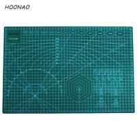 A3 Pvc Cutting Mat Green Double sided Self Healing Cutting Board Fabric Leather Craft DIY Cutting Pad Patchwork Cut Pad 45*30cm