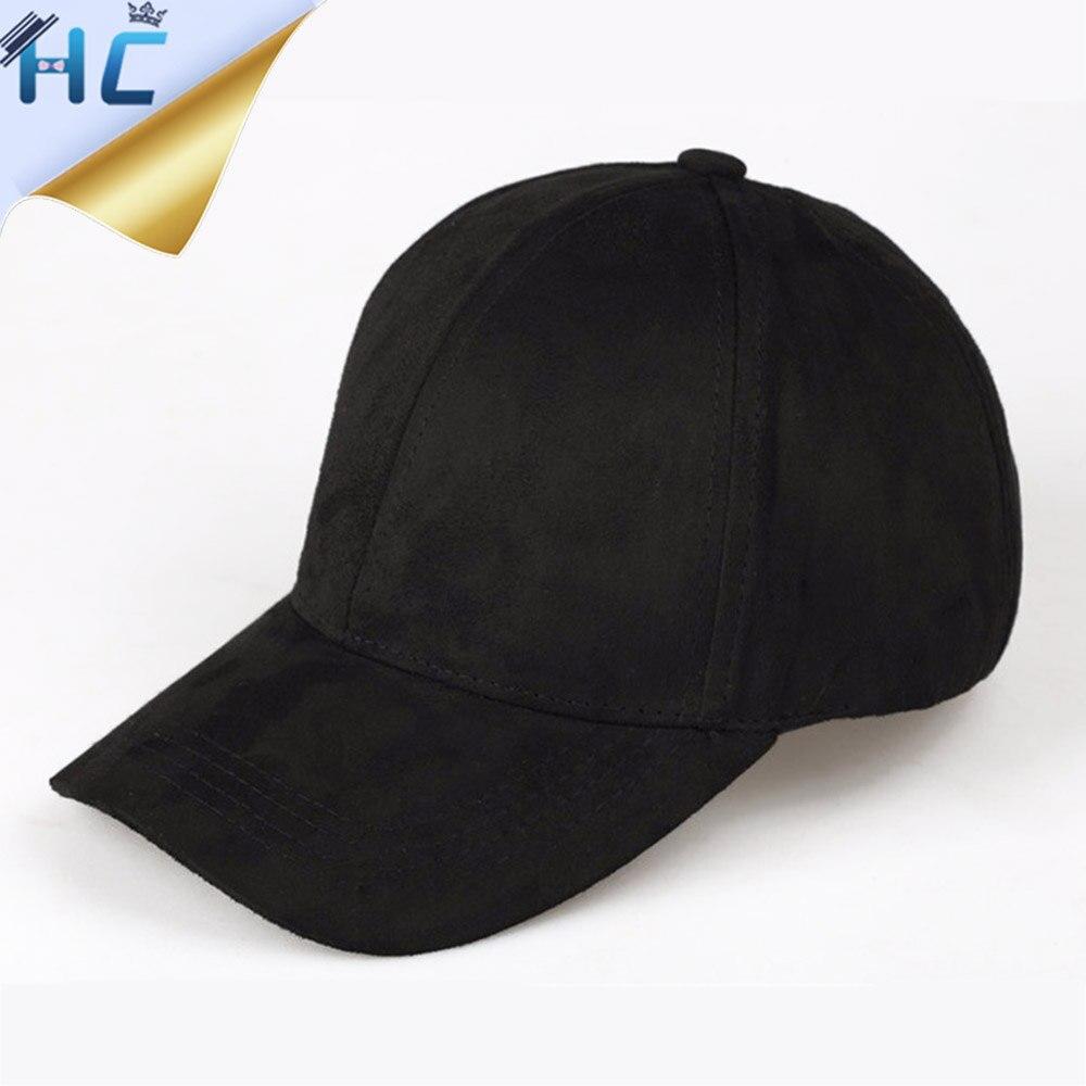 2016 Women High Quality Suede Baseball Cap Ladies Black Pink Casual Hats  Snapback Gorras planas Hip Hop Cap Dad Hat Casquette 22cb6fdd2a8