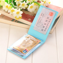 10 color New cute Creative Fashion credit card holder Package Ladies Candy  Cute Macarons Of Personalized ID Card Sets