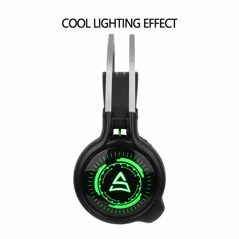 2598fe08b8b ... SUPSOO G815 Gaming Headset Best casque 7.1 Surround Sound USB Wired  Headphones with Microphone Volume Control ...