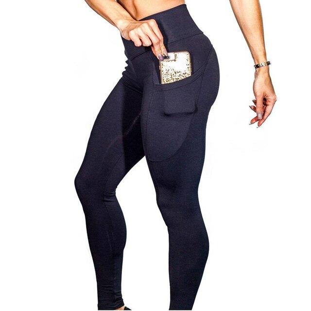Yoga Pants With Pockets S-XL Women Sport Leggings 1