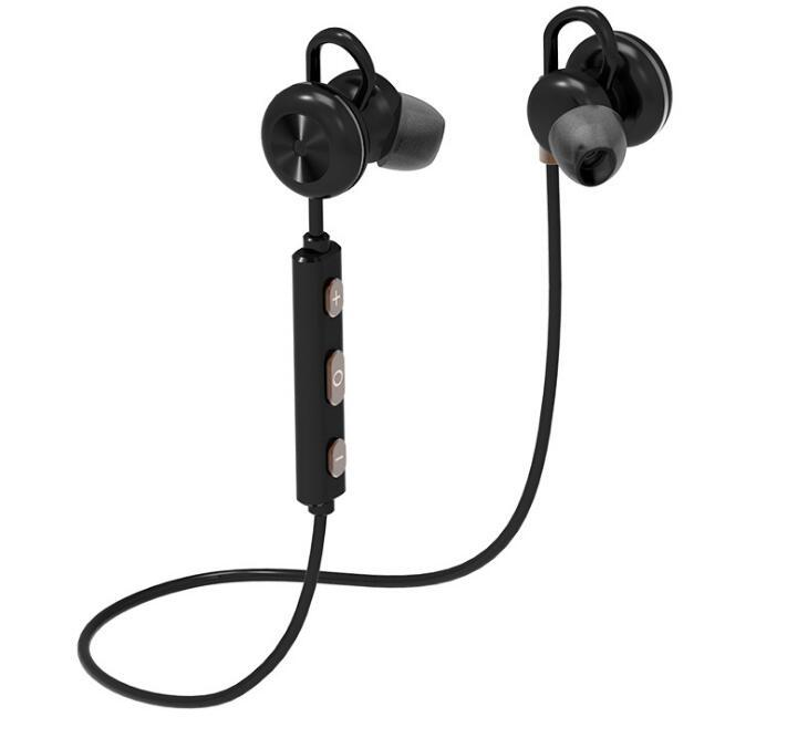 Magnetic Sport Headphones Earphones Wireless Bluetooth V4.1 Stereo Headset with Mic for All Smart Phones IOS/Android PC Sony