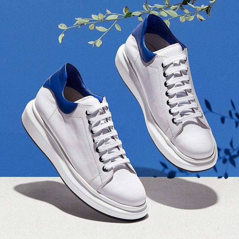 witte sneakers heren dikke zool