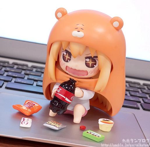 Himouto Umaru-chan Umaru #524 Anime Nendoroid Mini Action Figure toys | 10cm