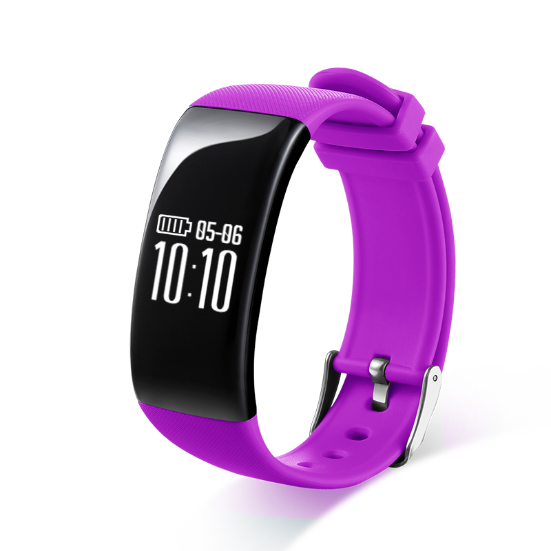 X16 Charge Smart Bracelet IP67 Waterproof Sports Pedometer Wristband Heart Rate Monitor Fitness Watch For Android