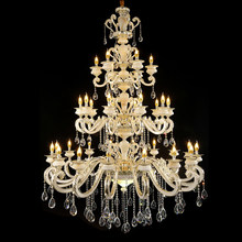 Luxury Hotel Chandeliers Art Deco Lighting Large Crystal Chandelier Lamp Church Modern Chandeliers for Bedrooms hanging Luminair(China)